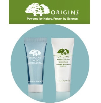 Origins: Free Sample Duo + Free Shipping with $30 Purchase