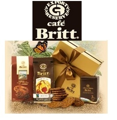 Cafe Britt: Mix and match 25 Gourmet coffees, chocolates, nuts and sweets and get two extra FREE bags