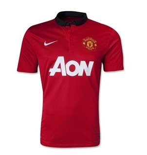 Manchester United 13/14 Home Soccer Jersey