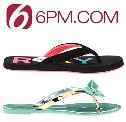 6pm: 精选女士凉鞋低于 $25 特卖