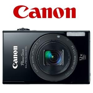 佳能 PowerShot ELPH 530 HS 黑色相机及两件免费礼品