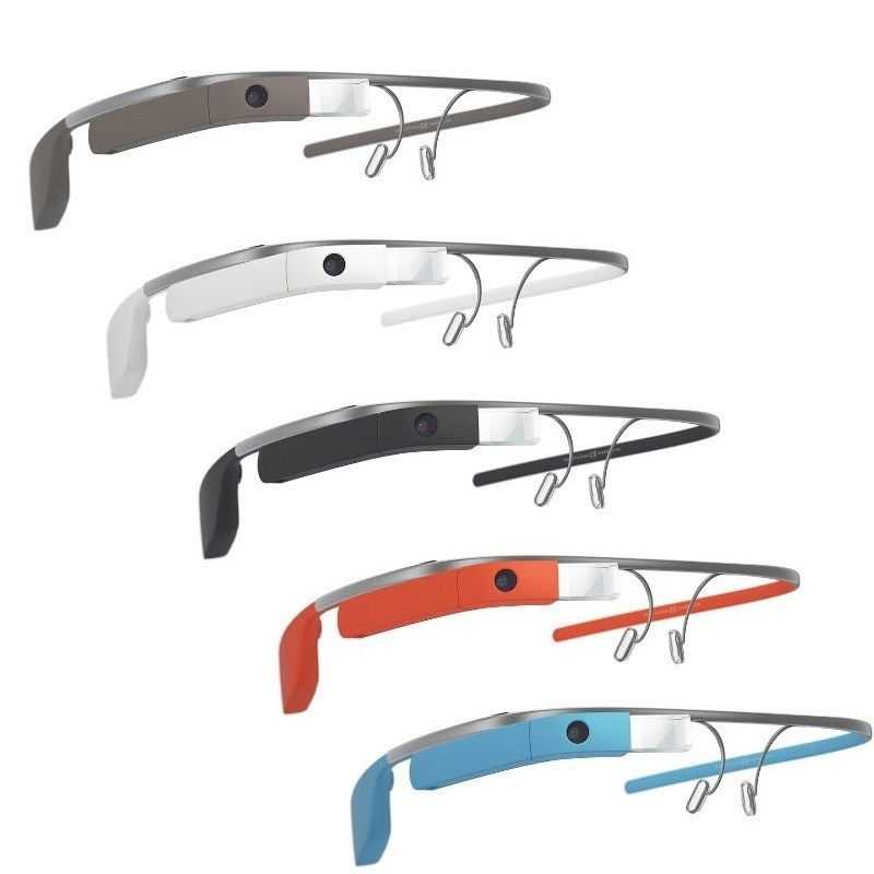 Google Glass探索者2.0版本 用户定制五种颜色