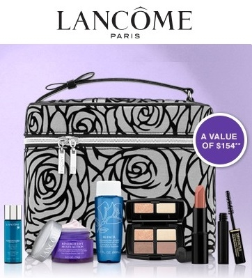 Lancome Canada: Free 7-Piece Set with $50 Purchase