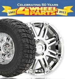 4WheelParts Black Friday Sale: Up to 20% OFF Sitewide + Buy 3 Get 1 Free on Select Tires by Phone