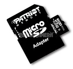 Patriot 16GB Class 10 microSDHC 闪存卡