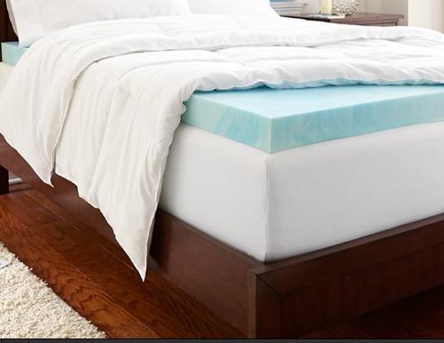 Groupon 团购网:PuraSleep Gel 加厚回弹记忆床垫保护垫折扣高达67% OFF,特价低至$79.99起