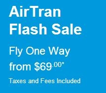 AirTran  Flash Sale