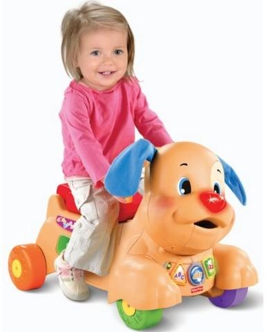 Fisher-Price 费雪 Laugh and Learn 可爱小狗造型儿童车