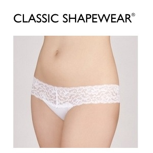 Classic Shapewear: Select Women's Panties and Thongs for $3.99