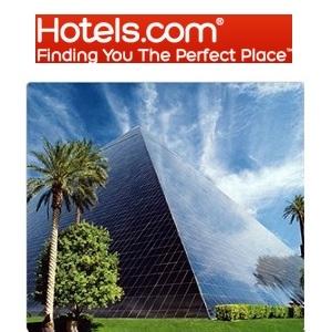Hotels.com 官网:精选 Las Vegas 酒店预订可享额外10% OFF