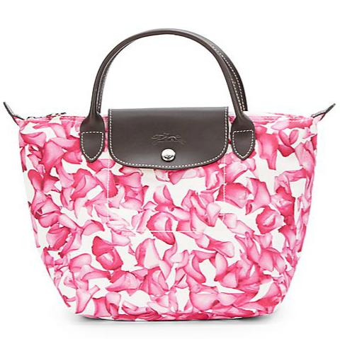 Longchamp Darshan Floral 印花饺子包