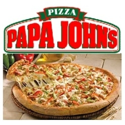 Papa Johns: 15 Points for 1-topping Large Pizza