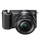 Sony a5000 Mirrorless 20.1MP Digital Camera w/ 16-50mm Lens