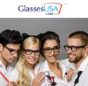 GlassesUSA: 50% OFF All Basic Lenses Eyeglass Frames