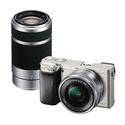 Sony Alpha A6000 Mirrorless Camera+16-50mm+55-210mm Lens