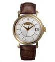 Patek Philippe Calatrava Automatic Opaline Dial 18 kt Yellow Gold Men's Watch 5153J