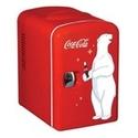 Koolatron Coca Cola Personal Fridge, Model #KWC-4