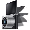 Samsung NX Mini Mirrorless Digital Camera with 9-27mm Lens and Flash