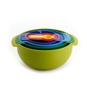 Joseph Joseph 9 Piece Compact Mixing Bowl