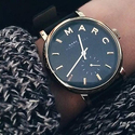 Marc by Marc Jacobs Baker Leather Ladies Watch
