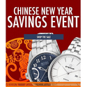 Up to 85% OFF Chinese New Year Sale + Free Shipping