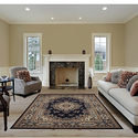 Large Traditional 8x11 Oriental Area Rug
