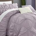 Halperina Floral Pinch-Pleat Comforter Set (6-Piece)