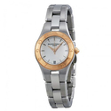 Baume and Mercier Linea Silver Dial Stainless Steel Ladies Watch