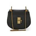 Chloe Drew Calfskin Leather Shoulder Bag