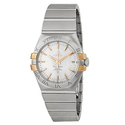 Omega Constellation Co-Axial Silver Dial Stainless Steel Watch