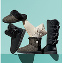 UGG Jackee 女士蝴蝶结雪地短靴