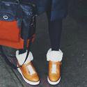COACH Urban Hiker Shearling Boots