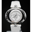 Versace Eon Ellipse Reversible White Enamel Dial Ladies Watch