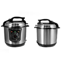 NutriChef Stainless Steel Electric Pressure Cooker and Steamer