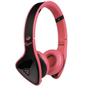 Monster DNA On-Ear Headphones (Black on Pink)