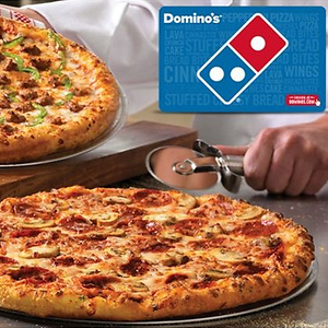 $5 for a $10 Domino's eGift Card
