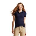 Aaeropostale Womens Solid Uniform PiquT Polo Shirt