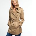 Superdry Draped Trench Coat