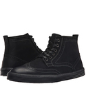 Steve Madden 黑色中筒马丁靴特卖