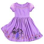 紫色连衣公主裙