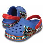 Crocs 孩童美国队长洞洞鞋