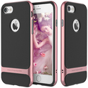 iPhone 7 Shockproof Hybrid Hard Bumper Soft Rubber Case
