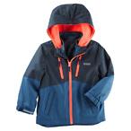 4合1儿童外套-蓝/橙