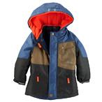 4合1儿童外套-蓝/棕/黑