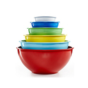 Martha Stewart Collection 彩色搅拌碗6个装