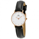 Daniel Wllington Classy Sheffield White Diamond Dial Ladies Quartz Watch