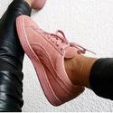 Puma 女士经典款麂皮休闲鞋