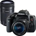 佳能Canon T6i +18-55mm+75-300mm+30个配件超值套装