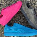 PUMA 男士麂皮时尚板鞋