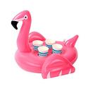 Z11粉色Flamingo 火烈鸟充气式泳池饮料托盘2个